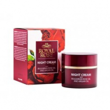 Krem do twarzy na noc royal rose 50ml. (róża + argan)