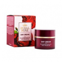 Krem do twarzy na dzień royal rose 50ml. (róża + argan)
